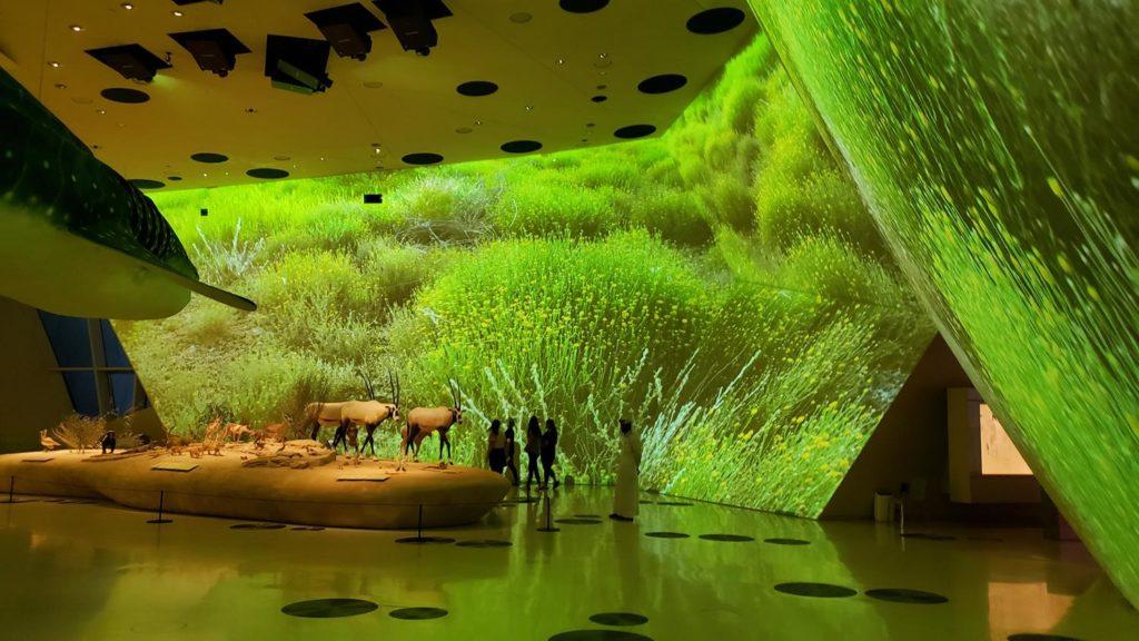 Projeto Museu Nacional do Qatar, em Doha