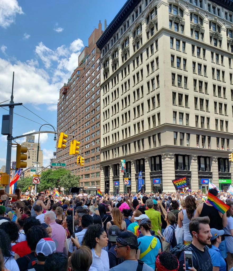 parada LGBT em Nova York