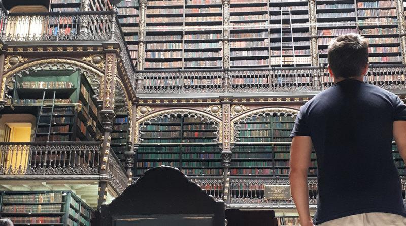 diego cabraitz arena, Biblioteca Rio de Janeiro - Real Gabinete portugues de leitura