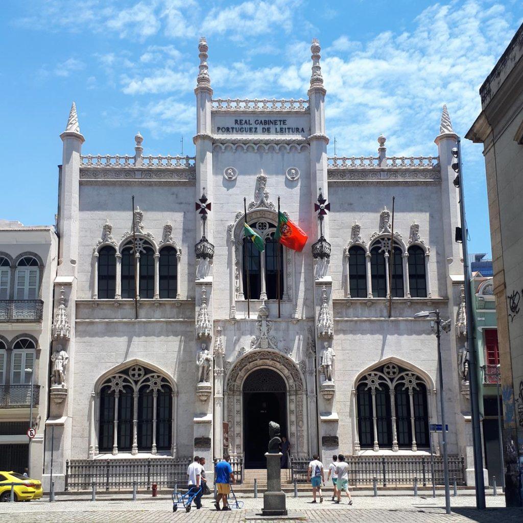 Como chegar no Real Gabinete Português de Leitura, no Rio de Janeiro