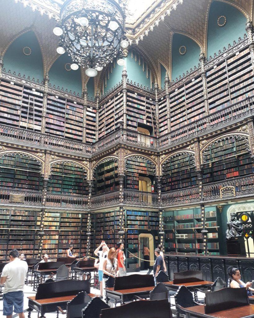 Interior Real Gabinete Português de Leitura