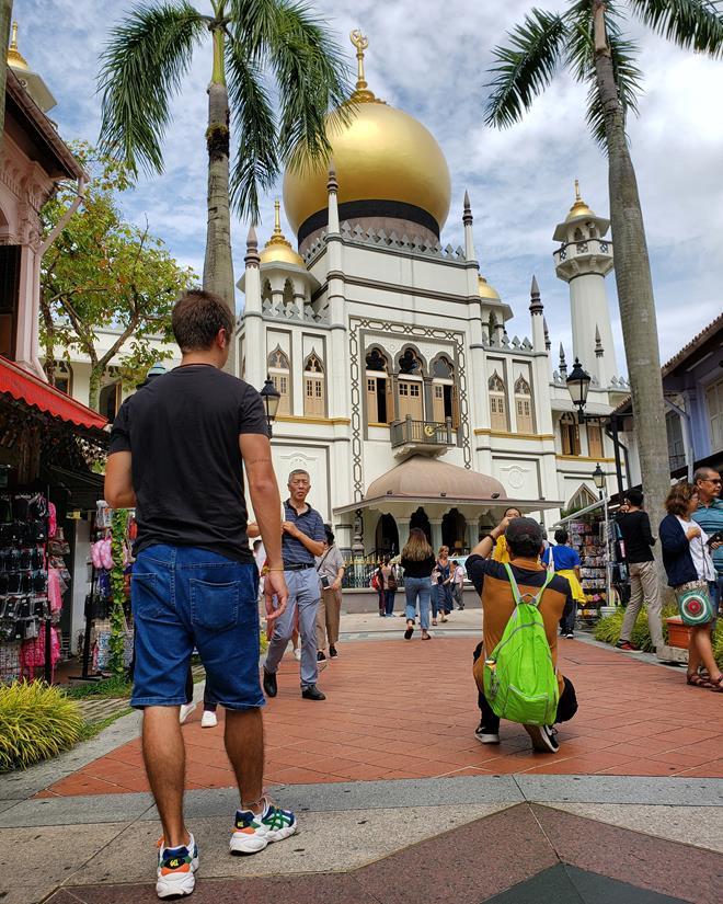 Diego Cabraitz Arena - Arabic Street Singapura