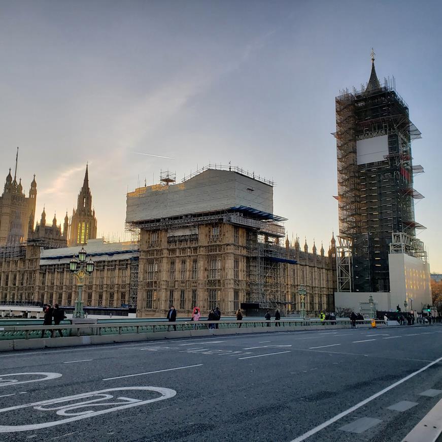 Big Ben em reforma,Londres