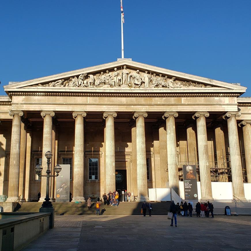 museus em Londres - British Museum