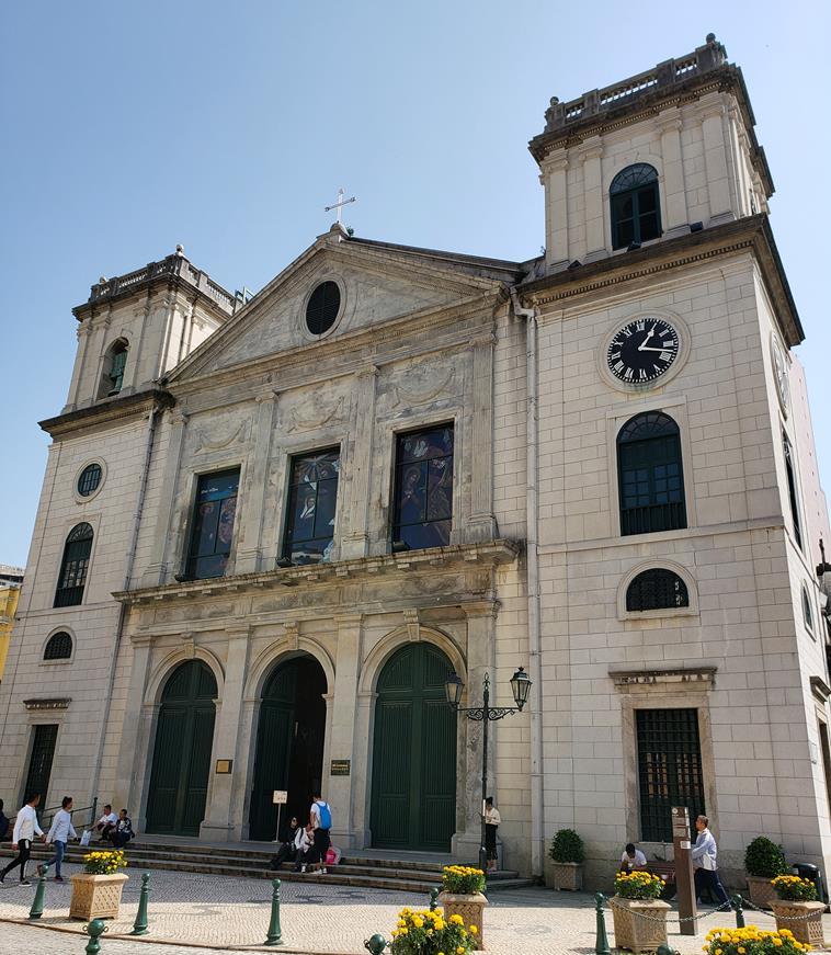 Catedral da Sé - Igrejas em macau