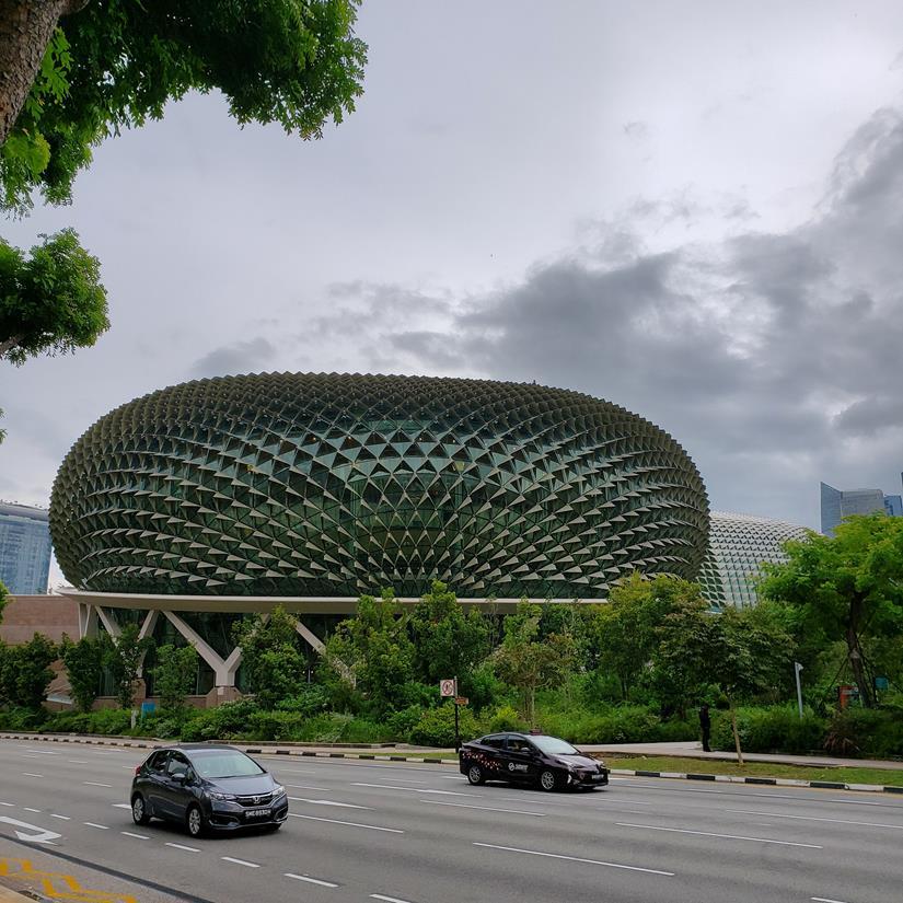 esplanade Theathres Singapura