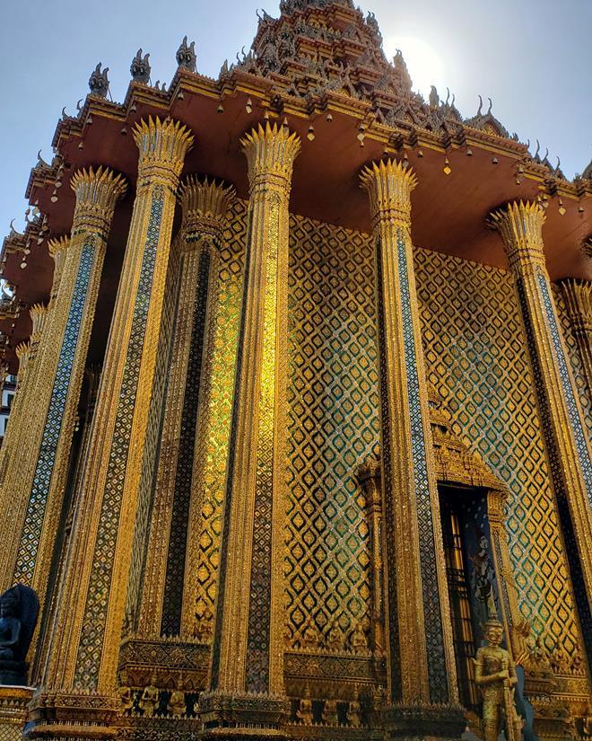 templo dourado em Bangkok - Grand Palace