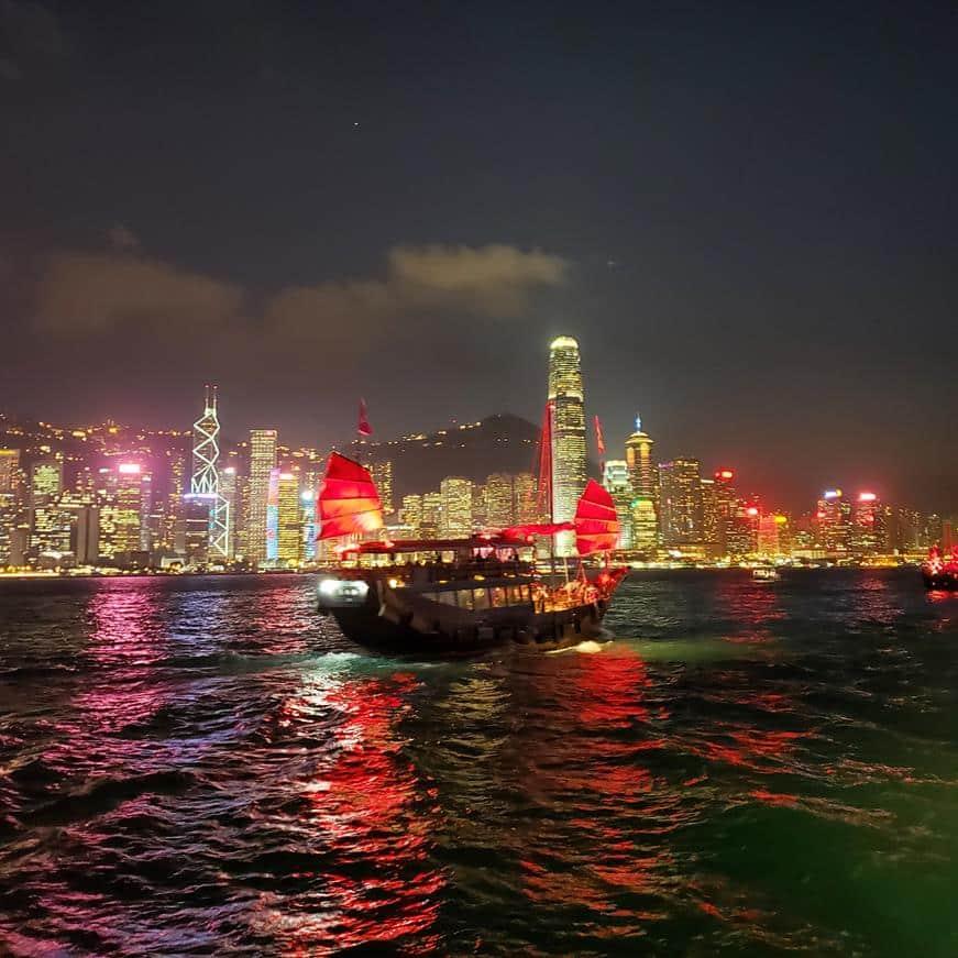 O que fazer em Hong Kong - Show das Luzes