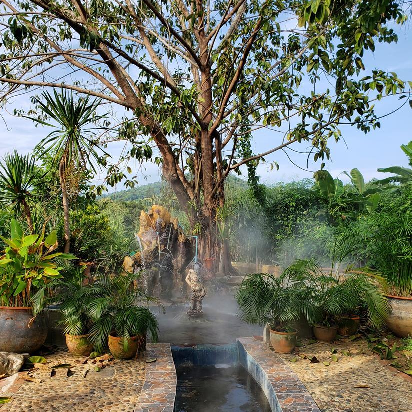 MAE Khachan Hot Spring - Agua quente na tailandia