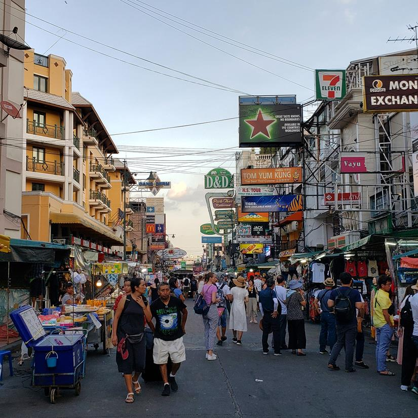 o que fazer na Khao San Road