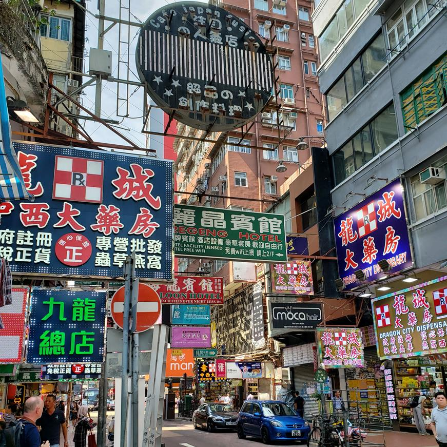 Onde comprar em Hong Kong - Ladies Market