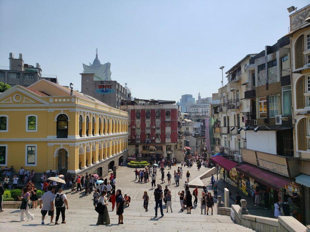 Largo da Companhia de Jesus - Macau