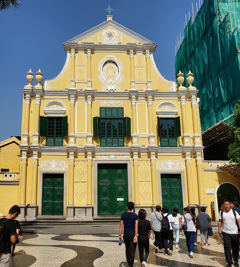 Igreja de Santo Domingo - Lardo do Senado Macau