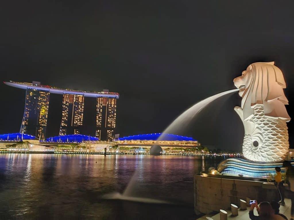 O que fazer em Singapura - The Merlion