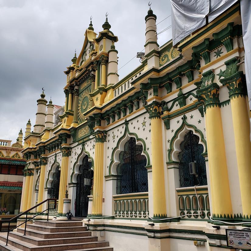 Bairro indiano em Singapura - Masjid Abdul Gaffoor