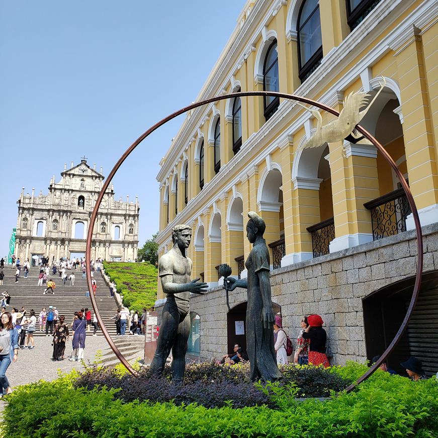 Ruinas de Sao paulo - Macau