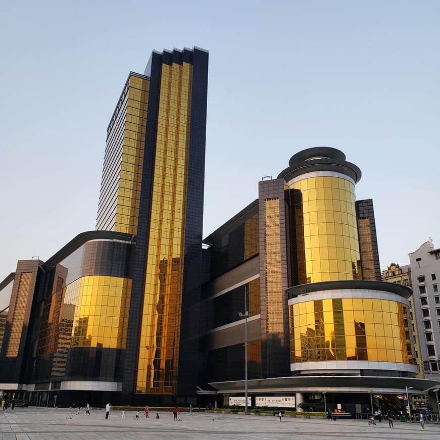 hotel dourado em Macau - Sands Macau