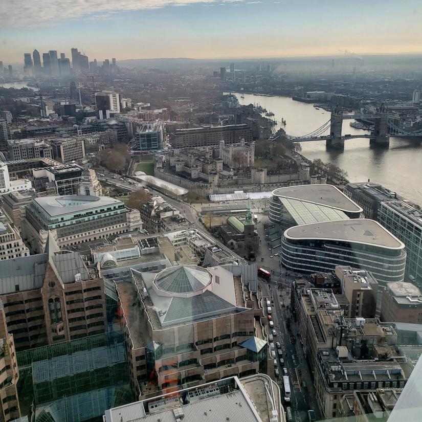 Sky Garden Londres - Vista de londres