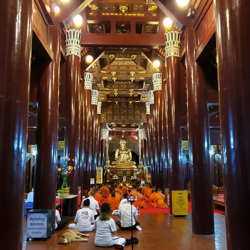 templo em chiang mai - Wat Loke Mofee