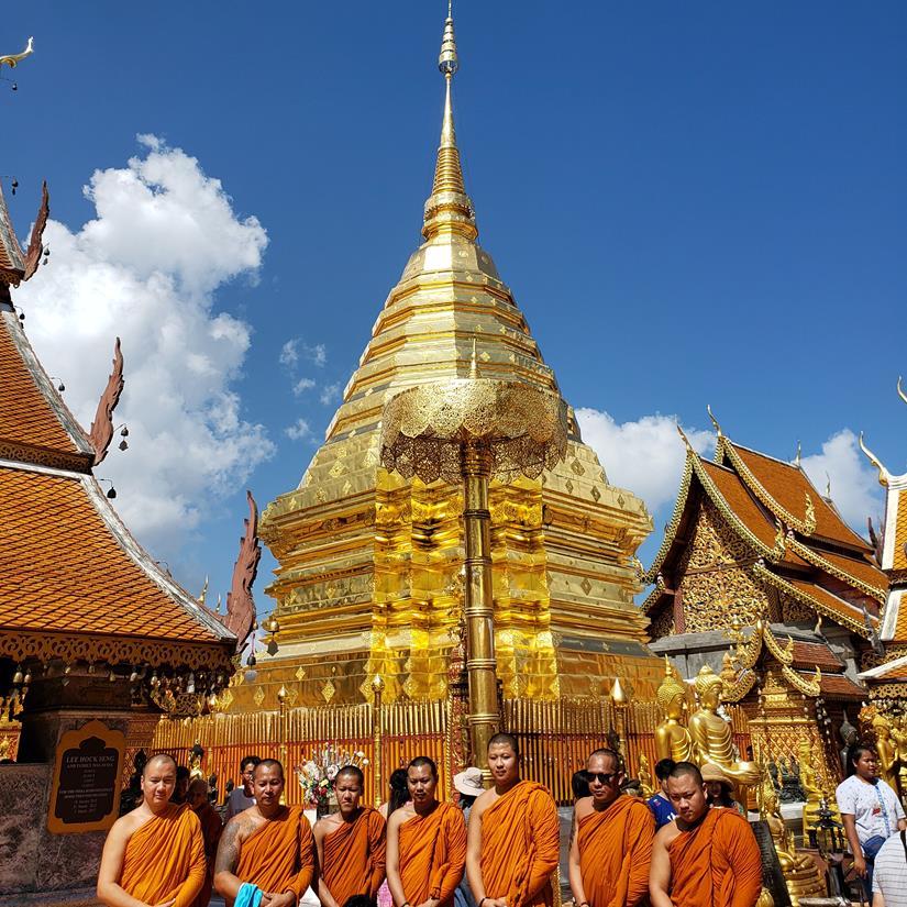 templo em Chiang Mai Doi Suthep