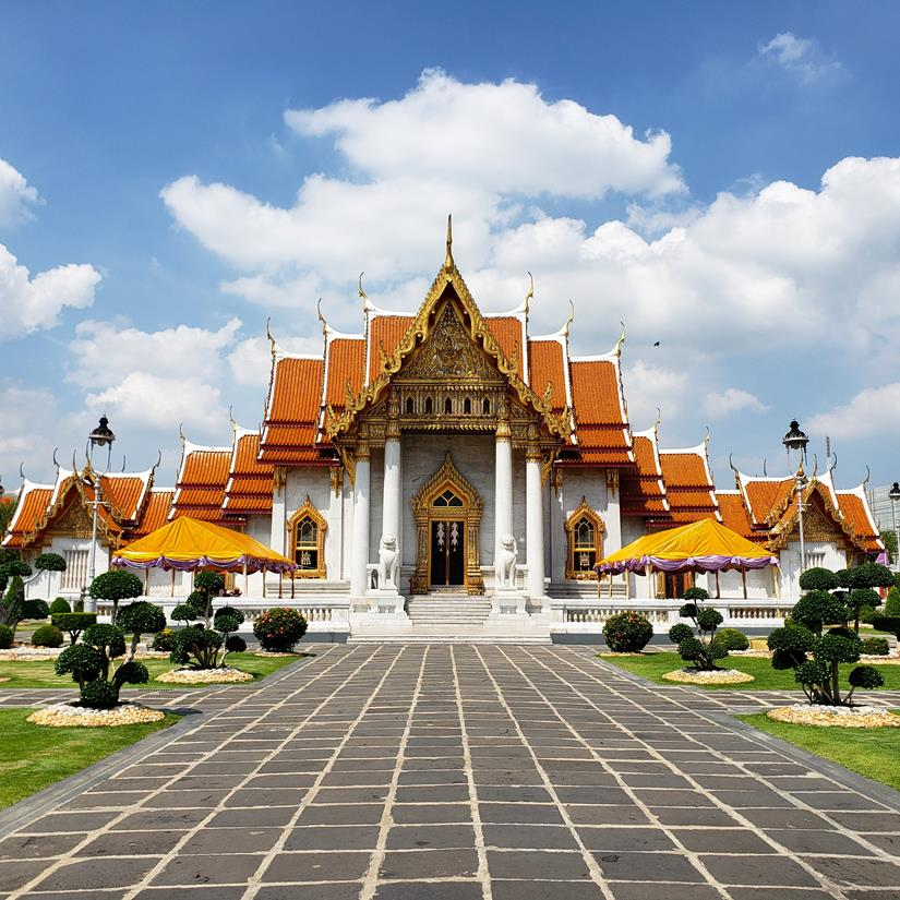 Templos em Bangkok - Wat Benchamabophit Bangkok