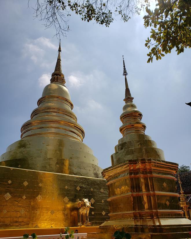 o que fazer em Chiang Mai - templo Wat Phra Singh