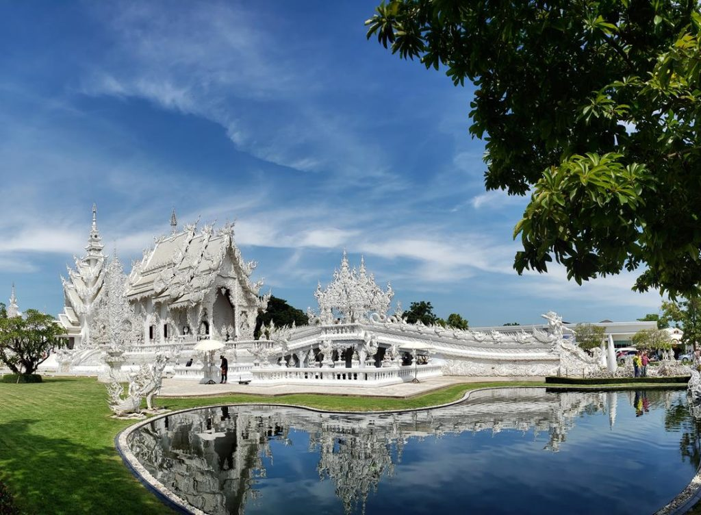 templo branco em chiang rai na tailandia - White Temple