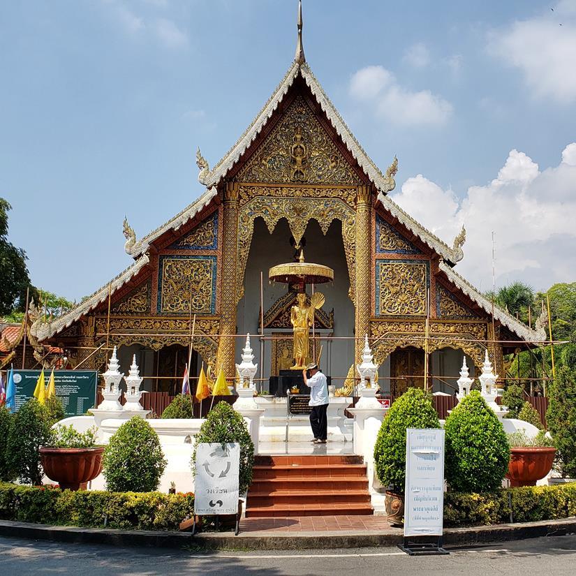 templos em chiang mai