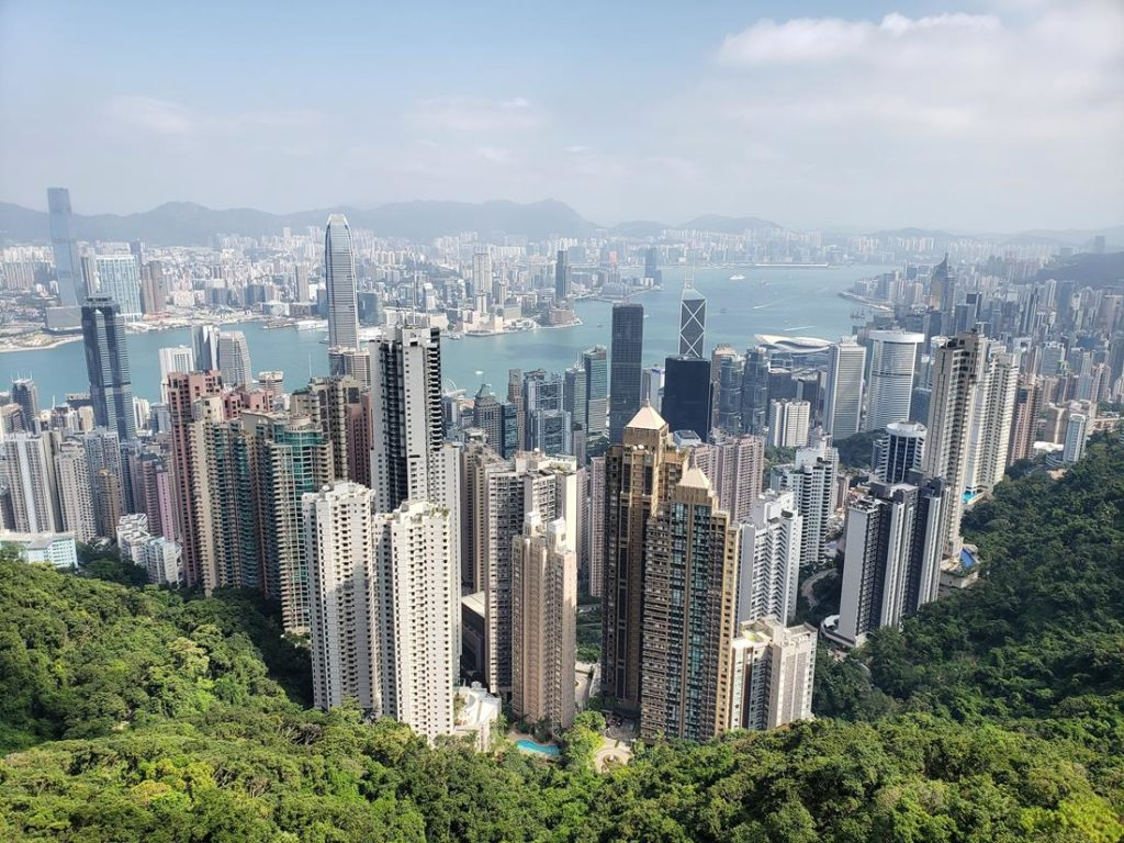 onde ver hong kong do alto - victoria peak