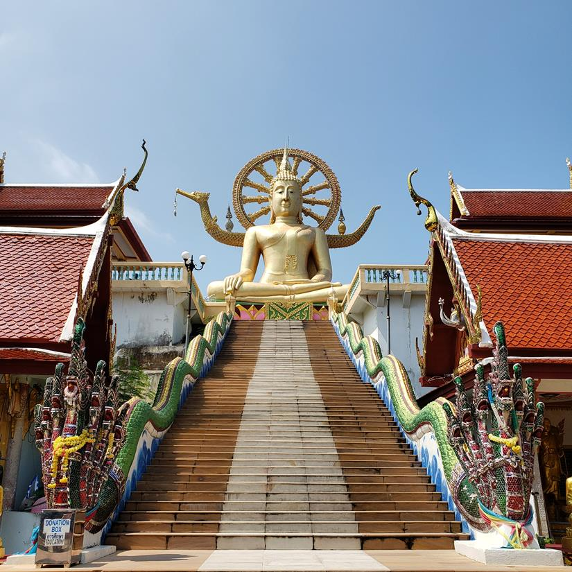Big Buddha em Koh Samui