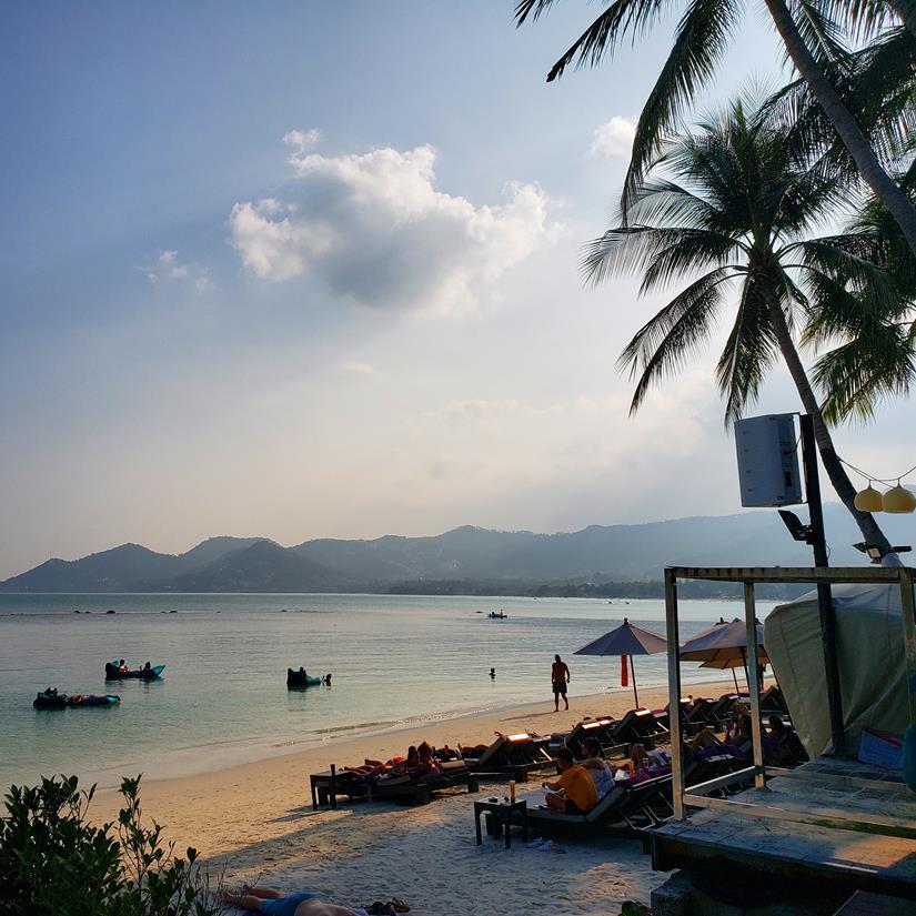 praia em koh samui - Chaweng Beach