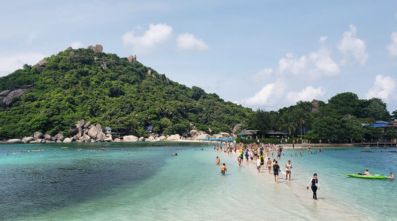 Nangyuan Island - Praia na tailandia