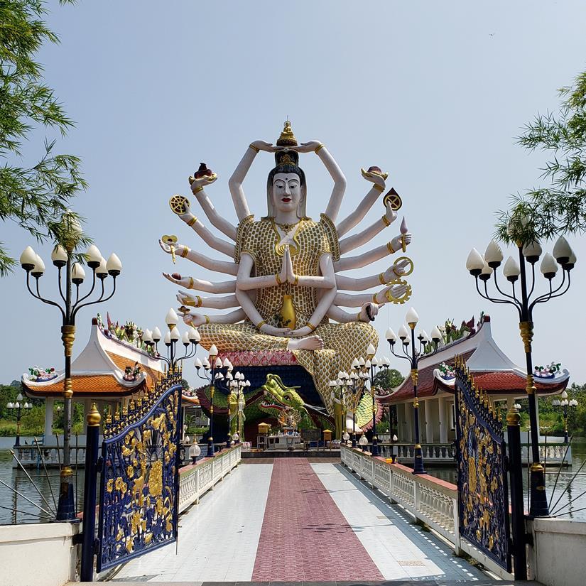 Templo em Koh Samui - Wat Plai Laem