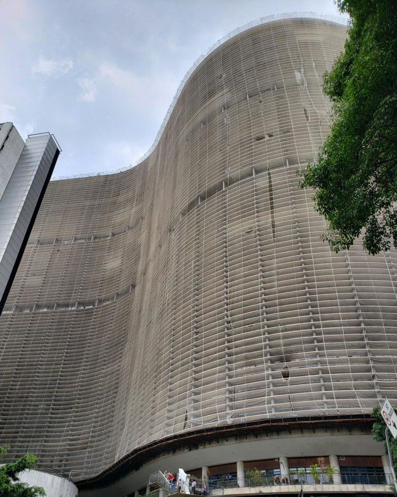 edificio copan em São Paulo - lugares para ver sao paulo do alto