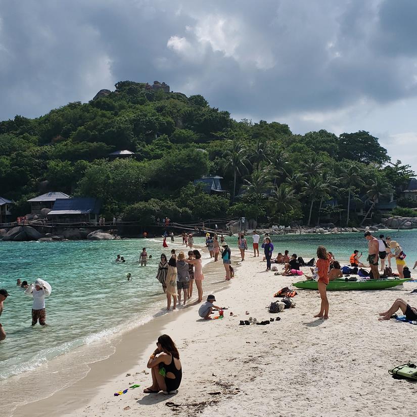 praia mais bonita na tailandia - nang Yuan Beach