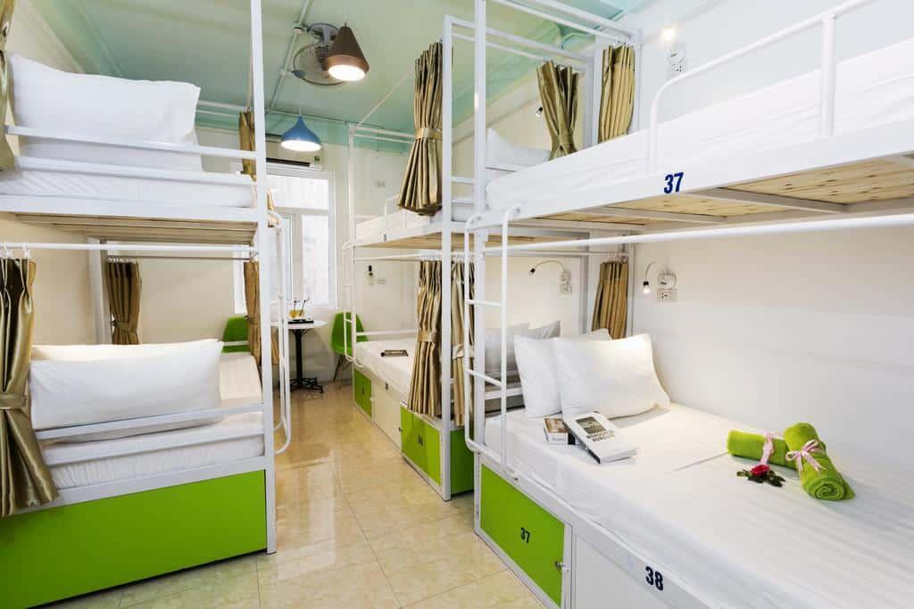 hostel barato em hanoi