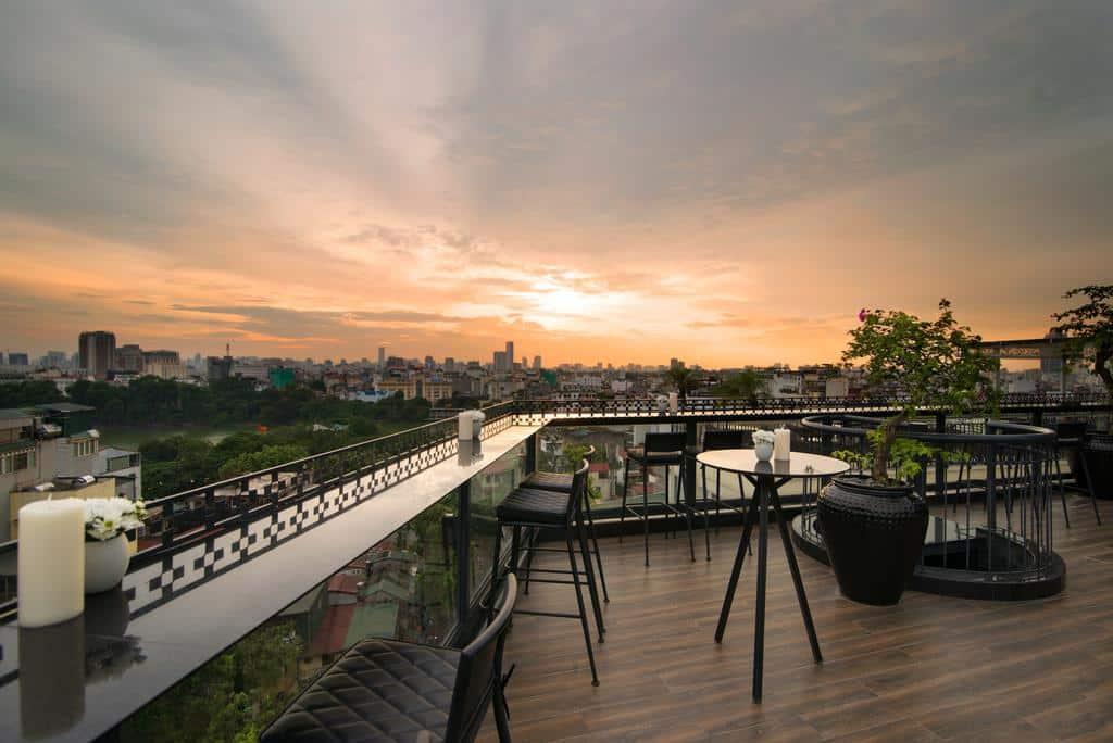 hotel com rooftop em hanoi - onde se hospedar em hanoi
