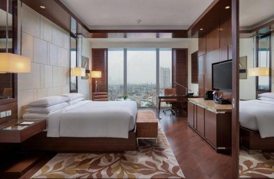 hotel 5 estrelas em hanoi - hotel com arquitetura de vidro