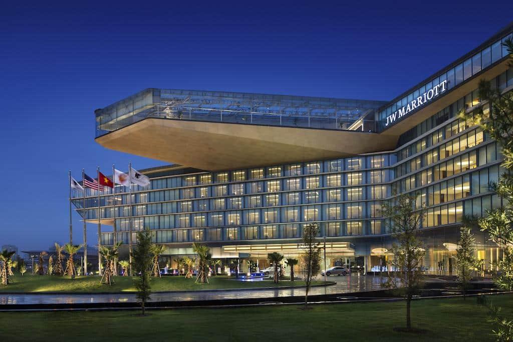 melhor hotel em hanoi - jw marriott