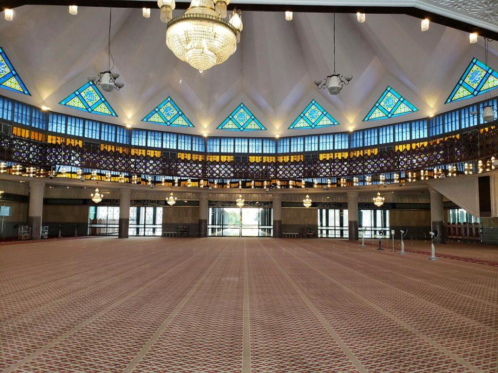 Mesquita Masjid Negara - mesquita em kuala Lumpur