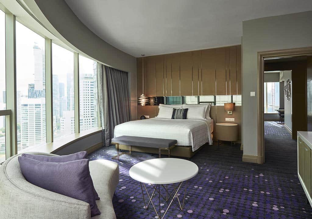 hotel 5 estrelas com vista em kuala lumpur