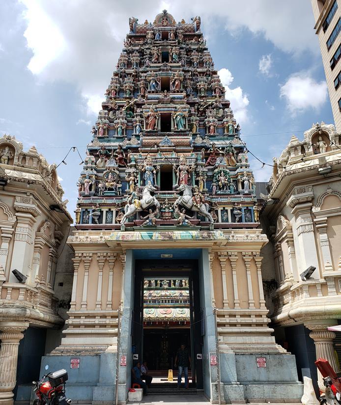 Templo hindu em kuala lumpur