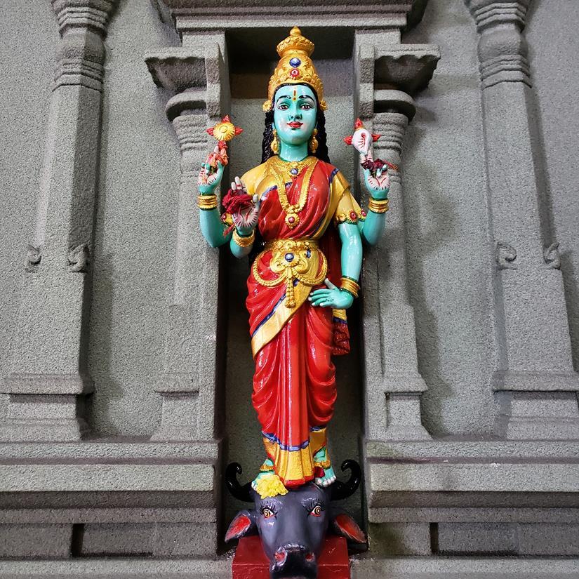 Sri Mahamariamman Temple - templo hindu em kuala lumpur