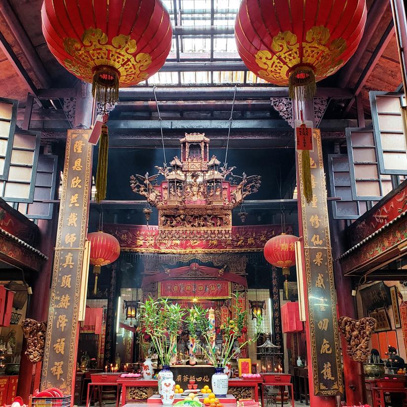 templo chines em kuala lumpur