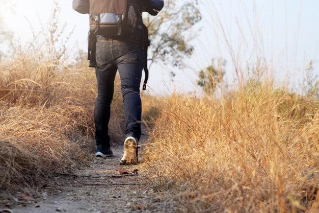 tenis de caminhada para trilha, Viagem para cidades frias