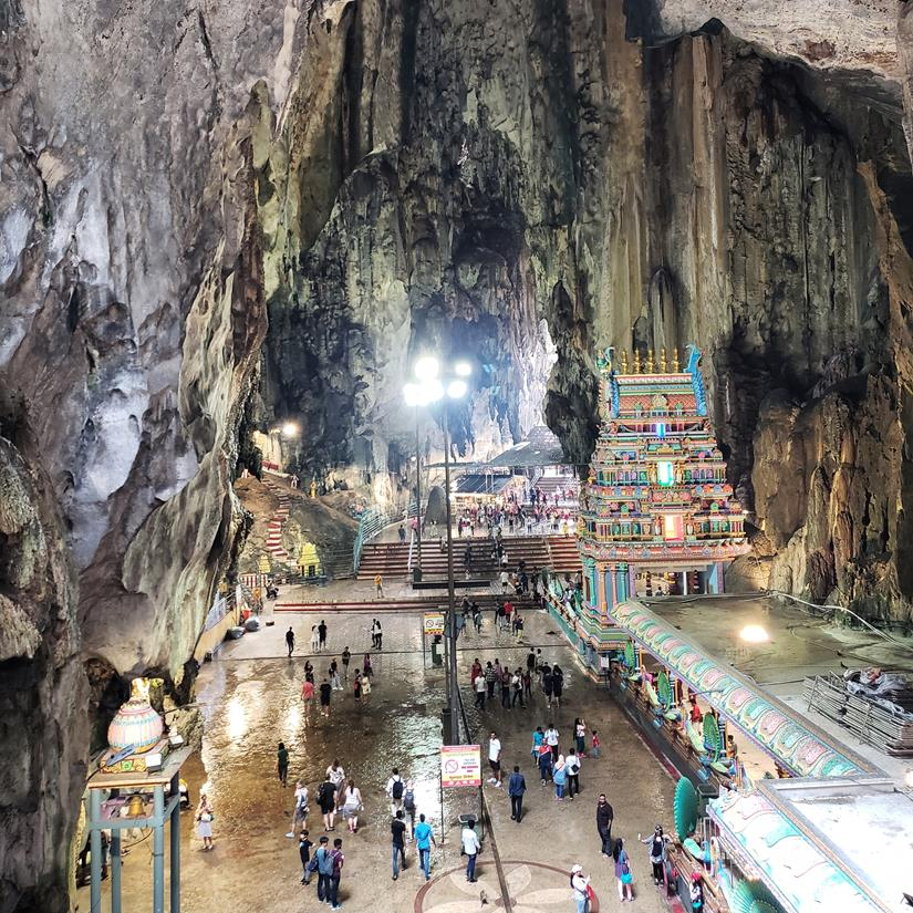 Interior Batu Caves