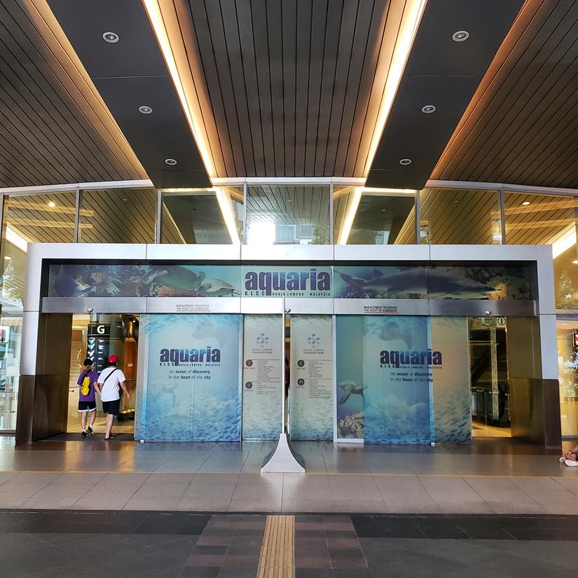 como chegar no Aquário de Kuala Lumpur