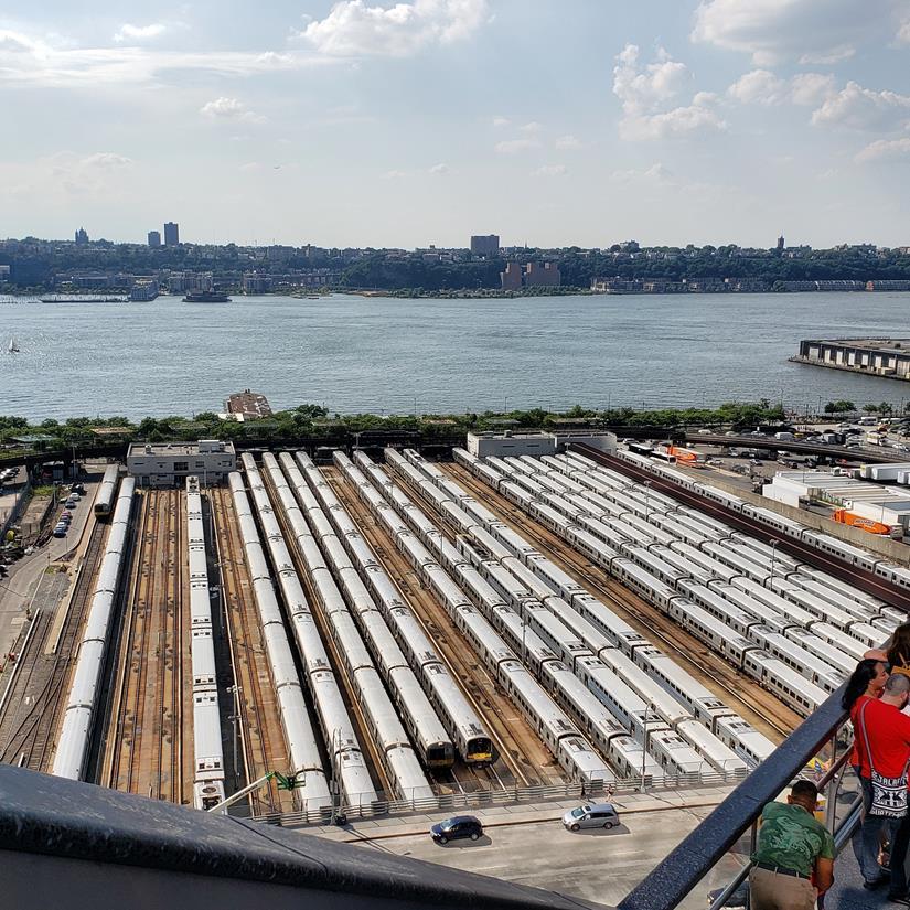 Estacionamento de trens Hudson Yards
