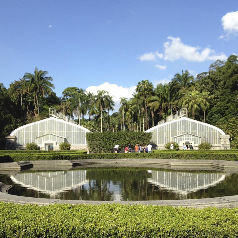 estufas Jardim Botânico de São Paulo