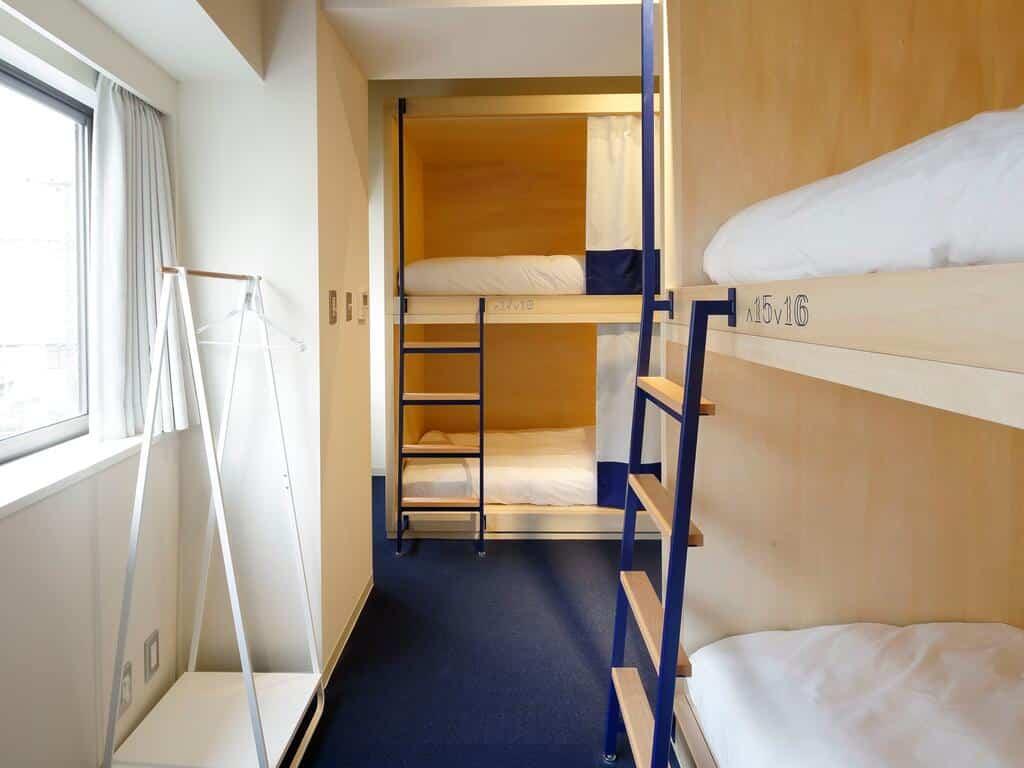 hostel barato em toquio